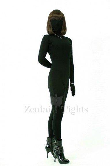 Cool Superior Classic Black Lycra Spandex Unisex Morph Suit Zentai Suit