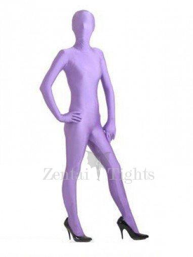Lavender Lycra Spandex Morph Suit Zentai