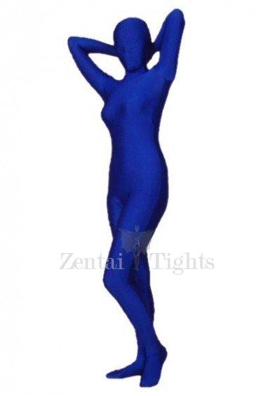 Navy Lycra Spandex Morph Suit Zentai Suit