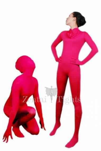 Superior Suitable Suitable Red Lycra Spandex Unisex Morph Suit Zentai Suit