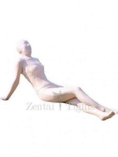 Unusual Skin color Lycra Spandex Unisex Morph Suit Zentai Suit