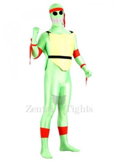 Teenage Mutant Ninja Turtles Lycra Spanex Super Hero Morph Suit Zentai Suit