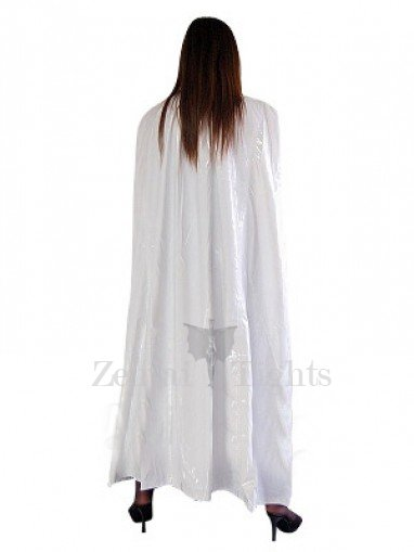 Cool White PVC Cape