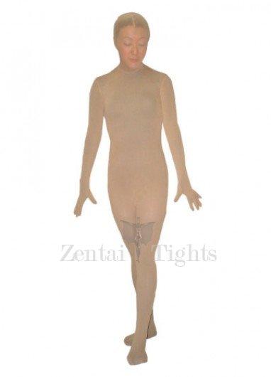 Flesh Color Unisex Nylon Morph Suit Zentai Suit