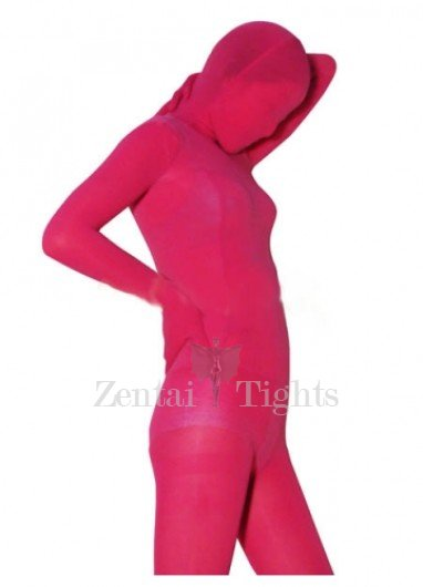 Ideal Red Plum Velvet Unisex Morph Suit Zentai Suit
