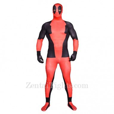 Deadpool Full Body Halloween Spandex Holiday Unisex Cosplay Zentai Suit