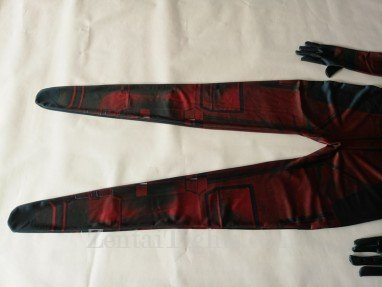 Deadpool Halloween Full Body Spandex Holiday Unisex Lycra Morph Zentai Suit