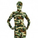 Supply Full Body Morph Suit Zentai Tights Desert Camouflage Pattern Morph Suit Zentai suit