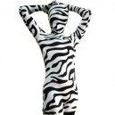 Supply Full Body Morph Suit Zentai Tights Zebra Pattern Spandex  Morph Suit Zentai Suit