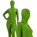 Unicolor Full Body Morph Suit Zentai Tights Dark Green Army Green Spandex Morph Suit Zentai Suit