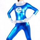 Fantastic Four Shiny Metallic  Unisex Costume