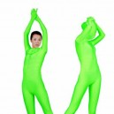 Green Lycra Spandex Unisex Morph Suit Zentai Suit