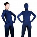 Purplish Blue Lycra Spandex Unisex Morph Suit Zentai Suit