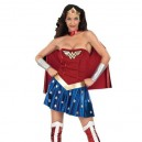 Supply Beautiful Wonder Woman Diana Lycra Shiny Metallic Super Hero