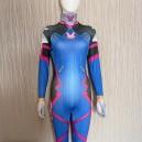 D.va Overwatch Halloween Full Body Spandex Holiday Unisex Lycra Morph Zentai Suit