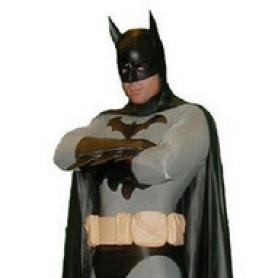 Movie and Television Animation Superhero Cosplay Batman Costume Morph Suit Zentai Lycra Tights Fullbody Tights