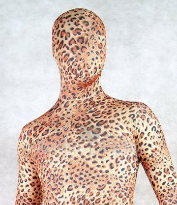 Full Body Morph Suit Zentai Tights Spotted Panther Spandex Morph Suit Zentai Suit
