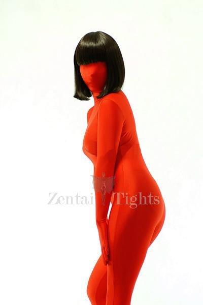 Cheap Red Lycra Spandex Unisex Morph Suit Zentai Suit