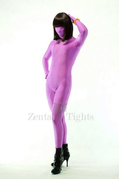 Violet Lycra Spandex Unisex Morph Suit Zentai Suit