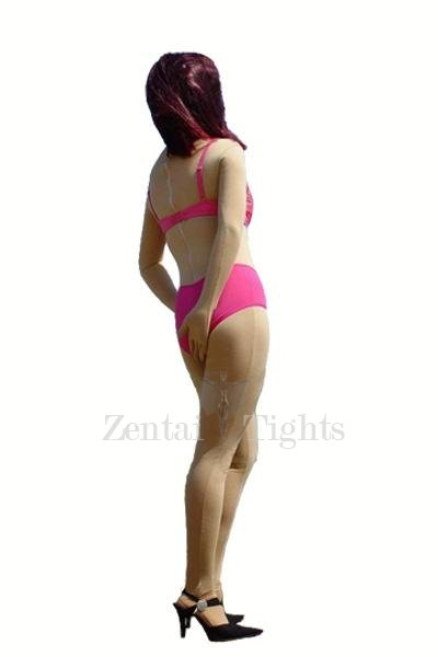 Ideal Flesh color Lycra Spandex Unisex Morph Suit Zentai Suit