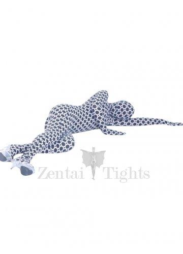 Sexy Flower Lycra Spandex Unisex Morph Suit Zentai Suit