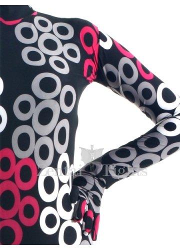 Colorful Lycra Spandex Breathable Morph Suit Zentai Suit
