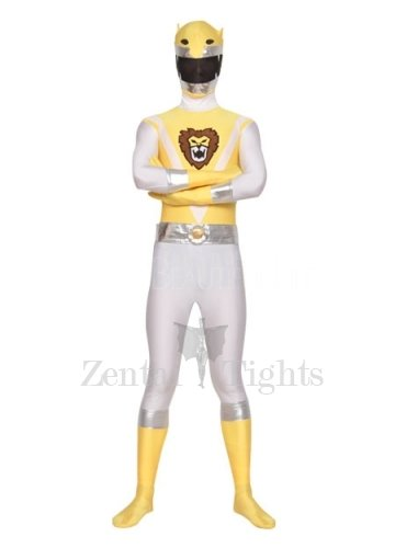 Detachable Mask Unisex Lycra Morph Suit Zentai Suit