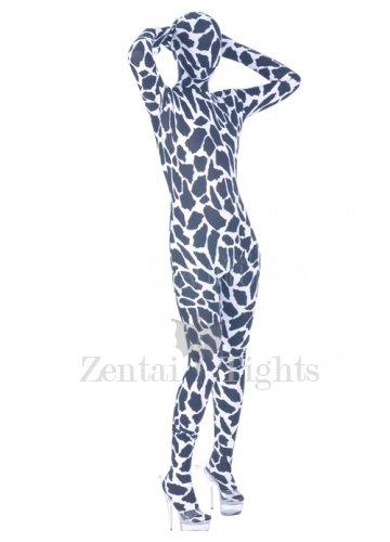 Sexy Colorful Lycra Spandex Unisex Morph Suit Zentai Suit