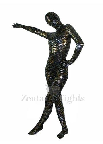 Perfect Tiger Pattern Lycra Spandex Unisex Morph Suit Zentai Suit