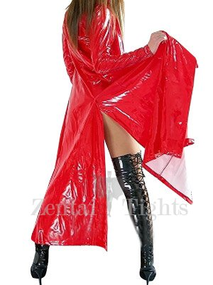 Cheap Red PVC Cape