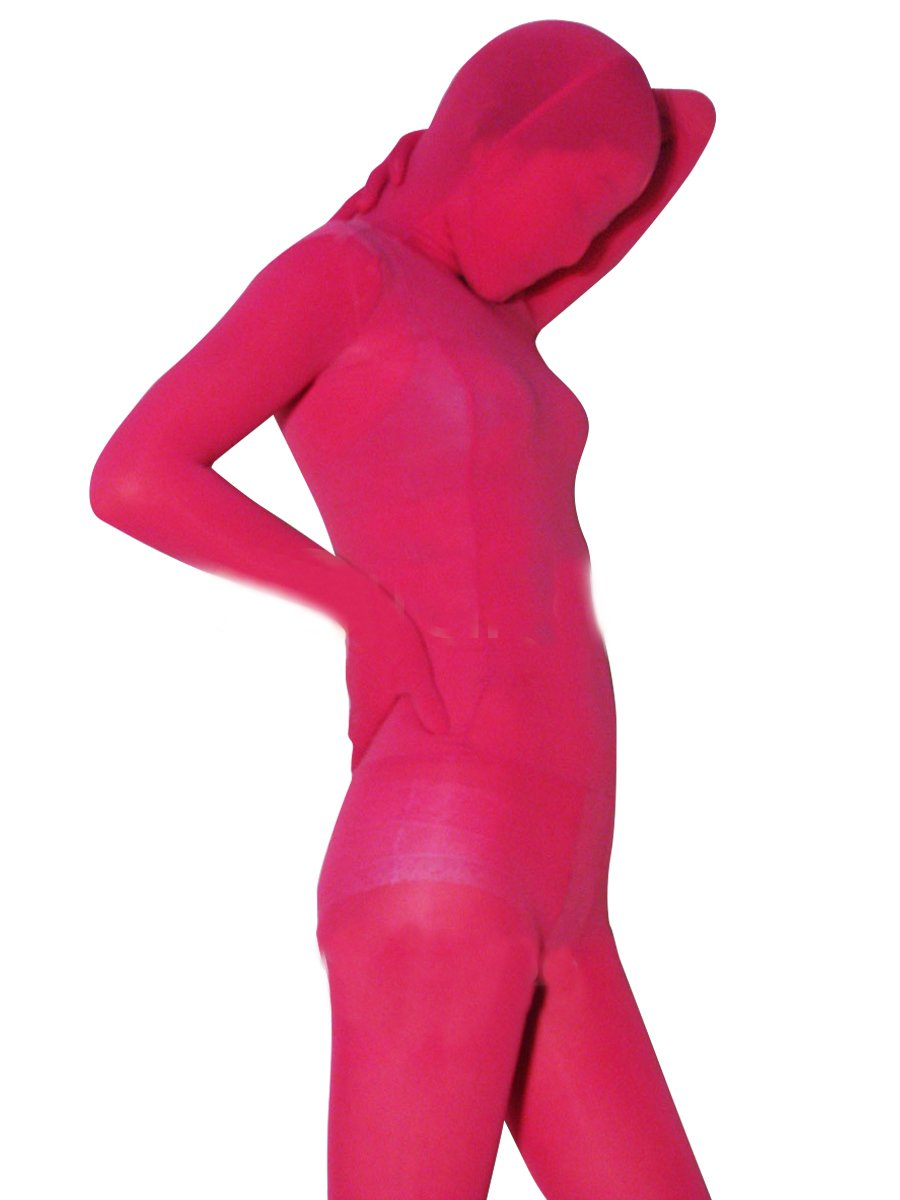 Popular Red Plum Velvet Unisex Morph Suit Zentai Suit
