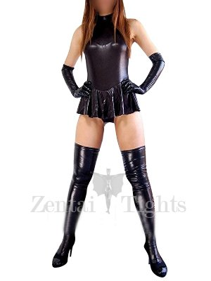 Perfect Cheap Black Shiny Metallic Sexy Dress