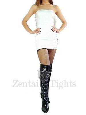 White PVC Dress