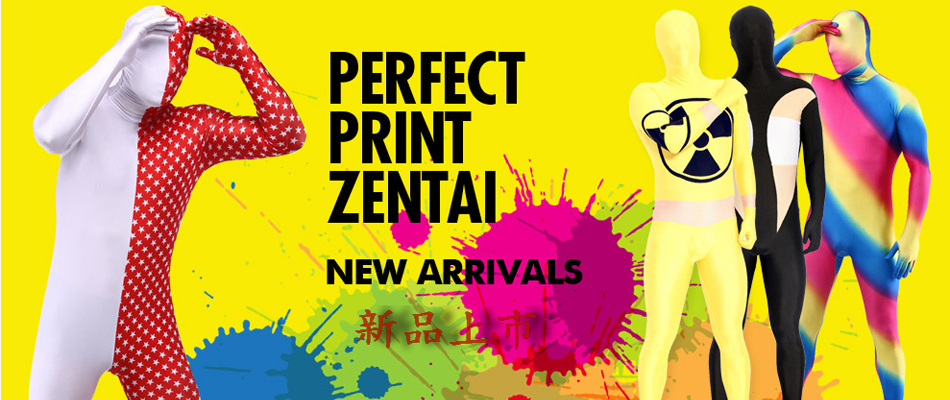2016 New Zentai Suits