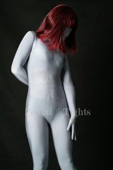 Top Unicolor Full Body Morph Suit Zentai Tights Dark Grey Lycra Spandex Unisex Morph Suit Zentai Suit