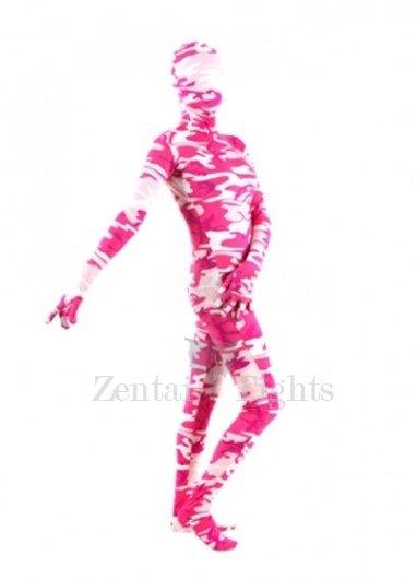 Colorful  Lycra Spandex Unisex Morph Suit Zentai Suit
