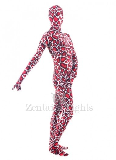 Quality Colorful Lycra Unisex Breathable Morph Suit Zentai Suit