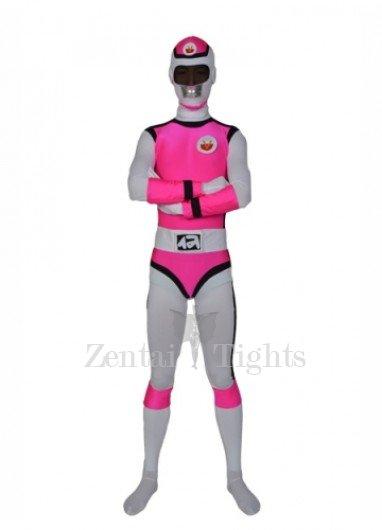Deep Rose Lycra Men\'s Morph Suit Zentai Suit