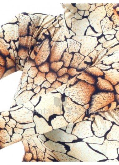 Lycra Spandex Colorful  Unisex Morph Suit Zentai Suit