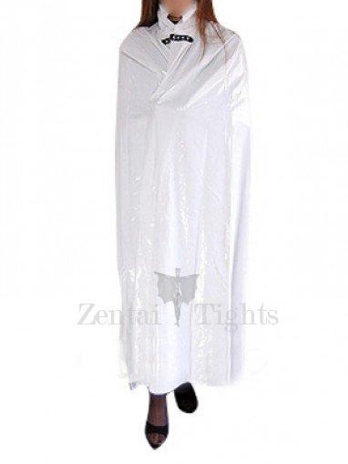 Cool White PVC Cape