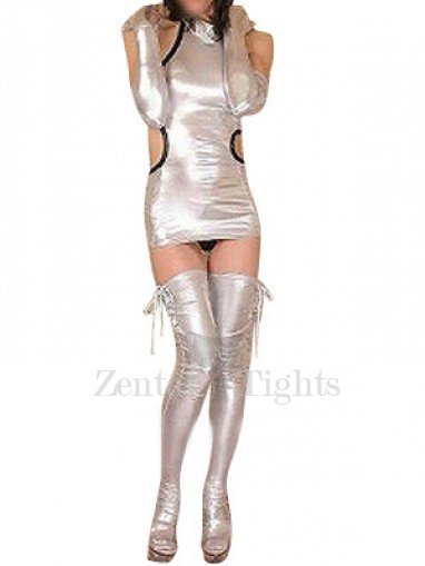 Shiny Metallic Sexy Dress