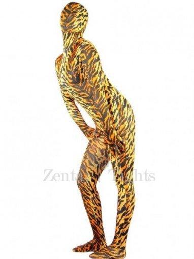Tiger Lycra Spandex Unisex Morph Suit Zentai Catsuit