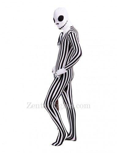 Lovely Skull Full Body Halloween Spandex Holiday Unisex Cosplay Zentai Suit