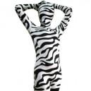 Supply Full Body Morph Suit Zentai Tights Zebra Pattern Spandex  Morph Suit Zentai Suit