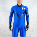 Supply Blue Fantastic Four Spandex Men Costume