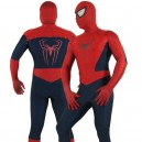 Supply Cheap Red Lycra Spandex Unisex Spiderman Costume