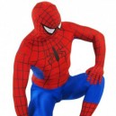 Red and Blue Lycra Spandex Spiderman Morph Suit Zentai Costume