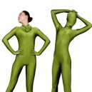 Supply Perfect Unicolor Full Body Morph Suit Zentai Tights Army Green Lycra Spandex Unisex Morph Suit Zentai Suit