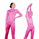 Supply Unicolor Full Body Morph Suit Zentai Tights Pink Lycra Spanex Unisex Morph Suit Zentai Suit
