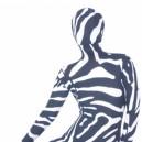 Sexy Zebra Lycra Morph Suit Zentai Suit